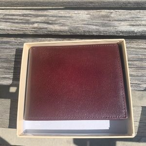 Men's DOPP Collection wallet Brown Leather New
